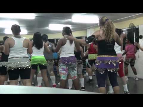 Academia do corpo Dança Zumba