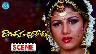 Donga Sachinollu Movie Climax Scene || Rambha || Krishna Bhagawan || Raghu Babu || Brahmanandam - IDREAMMOVIES