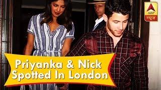 Priyanka Chopra & Nick Jonas spotted in London - ABPNEWSTV
