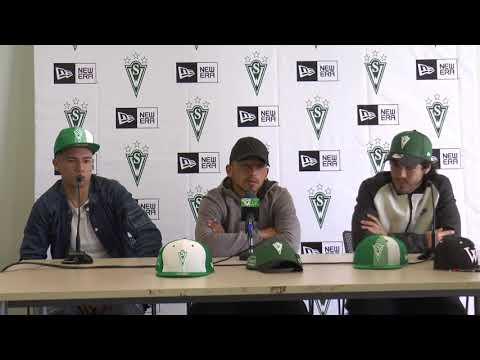 Conferencia de prensa Fernández, Cuadra y Quiñones 13 octubre 2017