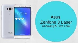 Asus Zenfone 3 Laser Smartphone Unboxing & Features - PhoneRadar