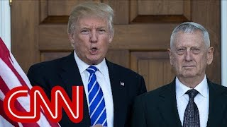 Trump: James Mattis is 'sort of a Democrat' - CNN