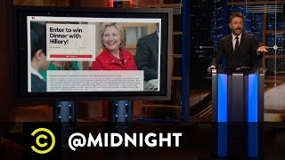 Jim Norton, Jim Florentine, Bonnie McFarlane - Dine With Her - @midnight with Chris Hardwick - COMEDYCENTRAL