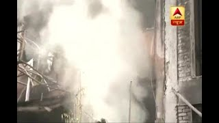 Two dead after hotel catches fire in Lucknow's Charbagh area - ABPNEWSTV