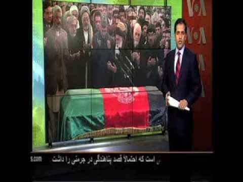 Funeral for Marshal Fahim