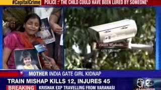 3-year-old girl kidnapped at India Gate - NEWSXLIVE