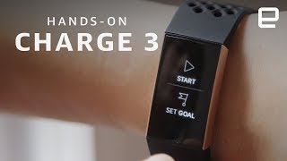 Fitbit Charge 3 Hands-On - ENGADGET