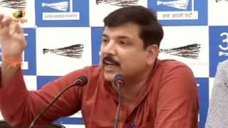 AAP Leader Sanjay Singh Press Brief On Kapil Mishra Fund's Allegations | Mango News - MANGONEWS