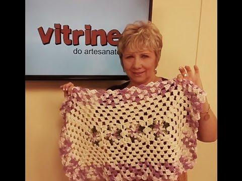 Tapete em crochê com Vitoria Quintal e Dália com Zilda Mateus   Vitrine do artesanato na TV