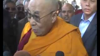 30,Jan 2015 - World should learn from teachings of Mahatma Gandhi, says Dalai Lama - ANIINDIAFILE