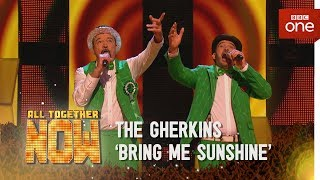 The Gherkins perform 'Bring Me Sunshine' made famous by Morecambe & Wise - All Together Now - BBC