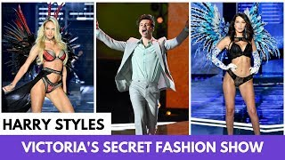 Harry Styles is the Best Part of the 2017 Victoria's Secret Fashion Show - HOLLYWIRETV