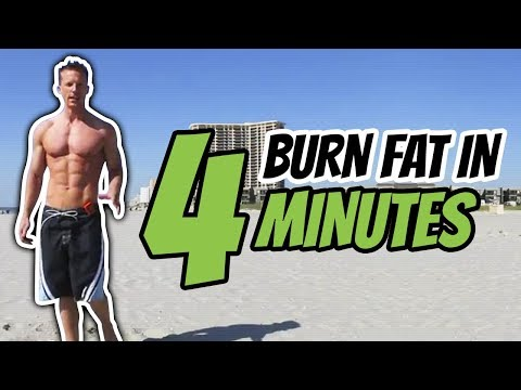 Burn Fat In 4 Minutes - Tabata Workout #1 - Live Lean TV