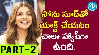Actors Bellamkonda Sai Srinivas & Kajal Aggarwal Interview Part #2 || Talking Movies With iDream - IDREAMMOVIES