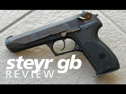 Review: Steyr GB - a high-cap Austrian 9mm