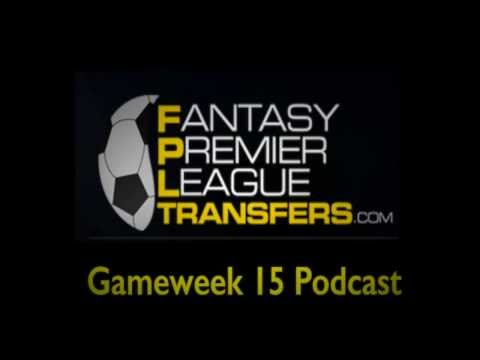 Gameweek 15 Podcast