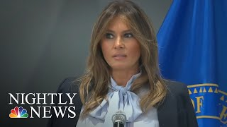 First Lady Melania Trump Speaks Out Against Cyberbullying | NBC Nightly News - NBCNEWS