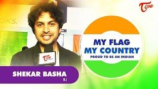 Shekar Basha | My FLAG My Country | Independence Day 2016 Special - TELUGUONE
