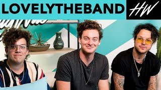 lovelytheband Slid Into Corinne Olympios' DM's And She Replied!! | Hollywire - HOLLYWIRETV