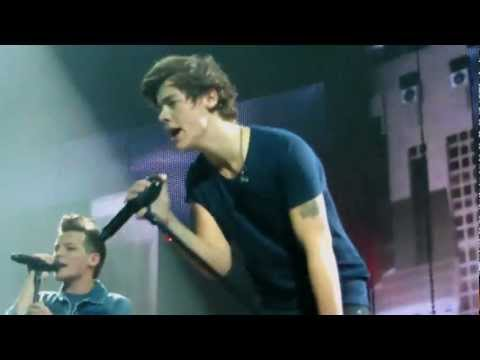 One Direction - Rock Me - FRONT ROW O2 arena 5/4/13 in HD