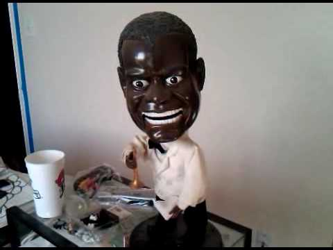 Creepy Louis Armstrong Doll