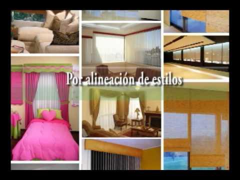 Modelos de cortinas: www.classica-decoraciones.com
