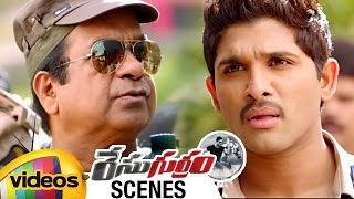 Brahmanandam Funny Frustration | Brahmanandam Kills Criminals | Race Gurram Movie Scenes - MANGOVIDEOS