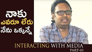 Rudramadevi Director Gunasekhar Interacting With Media About Nandi Awards | Part-01 | TFPC - TFPC