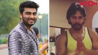 Arjun Thanks His Fans As 'Half Girlfriend' Completes 1 Year | Varun Works Out Despite His Roza Fast - ZOOMDEKHO
