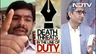 NDTV's Ravish Kumar Gets Death Threats: Are Journalists Soft Targets? - NDTVINDIA