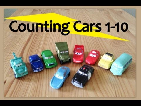 Learn to Count Numbers 1 to 10. Song for babies,toddlers, and children (Cars Lightning Mcqueen)
