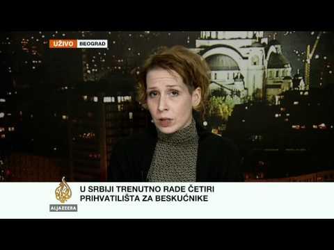 Milica Đorđević o beskućnicima u Srbiji
