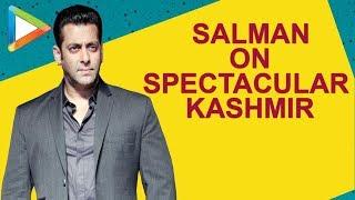 """I'd want to keep going back to Kashmir to shoot movies"":Salman Khan |Notebook | Pranutan Zaheer - HUNGAMA"