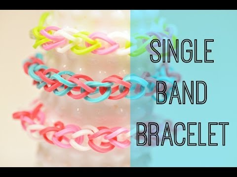 How to Make a Single Band Bracelet