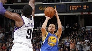 Stephen Curry Drops 36 & 10 On The Kings