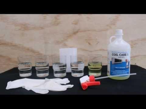 การทำความสะอาดแอร์บ้าน น้ำยาคอยล์แคร์