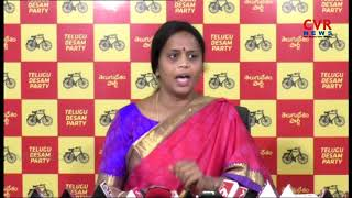 TDP Leader Panchumarthi Anuradha Comments on BJP Leaders | CVR News - CVRNEWSOFFICIAL