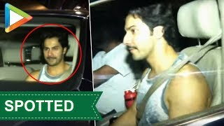 Varun Dhawan  SPOTTED at Khar gym - HUNGAMA