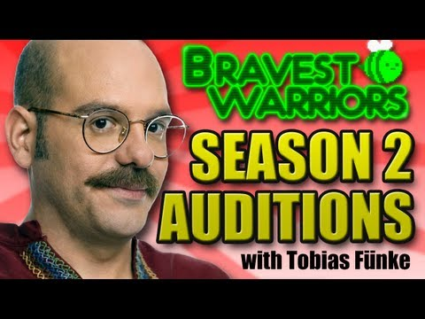 Bravest Warriors Season 2 Auditions Tobias Fnke