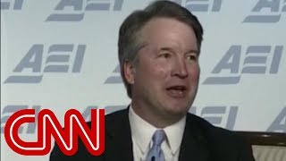 Hear Brett Kavanaugh discuss independent counsel - CNN