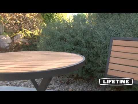 - Lifetime 3-Piece Bistro Patio Set