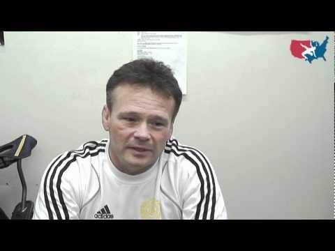 Swedish Greco-Roman Coach Benni Ljungback
