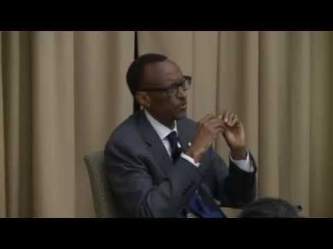 H.E Paul Kagame discuss what the world has learned from Rwanda (Tufts University)