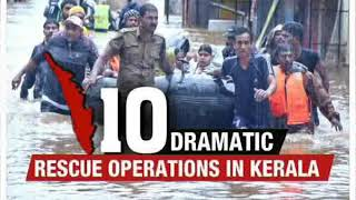 10 dramatic rescue operations in Kerala - NEWSXLIVE