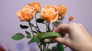 Советы по лепке розы из холодного фарфора