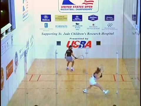 2001 U.S. Open Racquetball Women's Pro Semifinal: Gudinas vs Wachtel