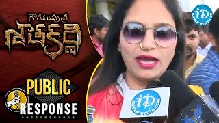 Gautamiputra Satakarni Movie Public Talk @ Prasads IMAX || Balakrishna || Shriya Saran || Krish - IDREAMMOVIES