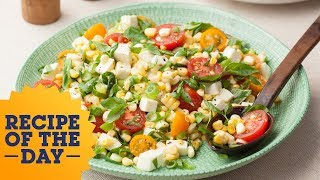 Recipe of the Day: Fresh Corn and Tomato Salad | Food Network - FOODNETWORKTV