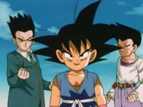 DBGT - Goku vs Baby Gohan, Goten &amp; Vegeta (Bruce Faulconer)