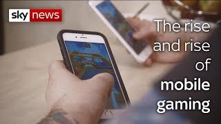 Swipe | Mobile games explosion & VR to spark memories - SKYNEWS